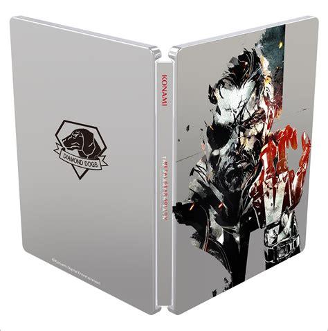 informer metal cover metal gear solid v the phantom pain steelbook case