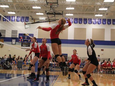 muskego girls volleyball battles  invitational muskego