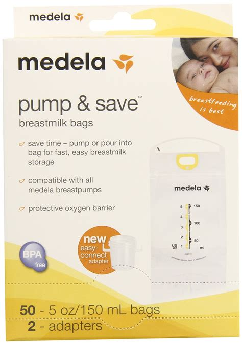Medela Pump And Save Breast Milk Bags Review