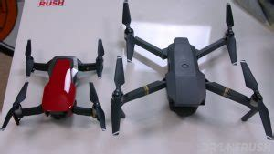 dji mavic air  dji mavic pro drone rush
