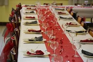 Decoration De Table Pour Anniversaire Adulte : d coration de table rouge et grise pour anniversaire cr ations d coration de f tes de ~ Preciouscoupons.com Idées de Décoration