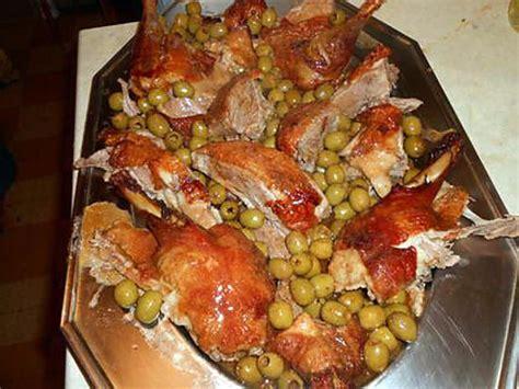 romarin en cuisine recette de canard roti aux olives