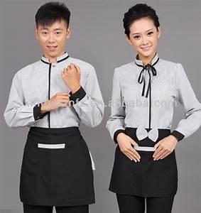 Hot saling fashionable designed hotel restaurant uniform ...