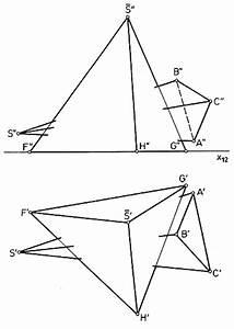 Schnittgerade Zweier Ebenen Berechnen : darstellende geometrie pyramide pyramide ~ Themetempest.com Abrechnung