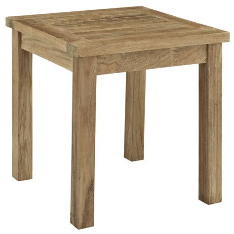 marina outdoor patio teak side table teak patio side table