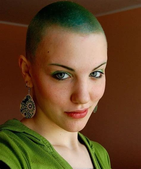 trends bald haircuts headshave women page hairstyles