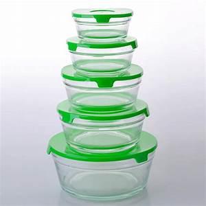 Boite En Verre Alimentaire : bols de verre pyrex avec couvercle r cipient alimentaire en verre pyrex chine fournisseurs bol ~ Teatrodelosmanantiales.com Idées de Décoration