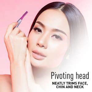 panasonic espc facial hair trimmer women electric shaver