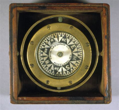 Small Boat Compass by Card Box Compass For Small Boat Penobscot Bay