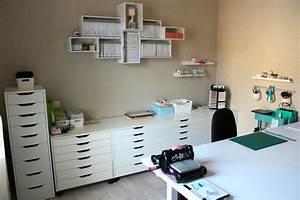 Créer Son Bureau Ikea : scraproom de r ve les ateliers de sev ~ Melissatoandfro.com Idées de Décoration