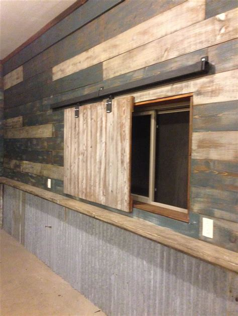 cheap garage wall covering my garage cave used reclaimed barn wood and door