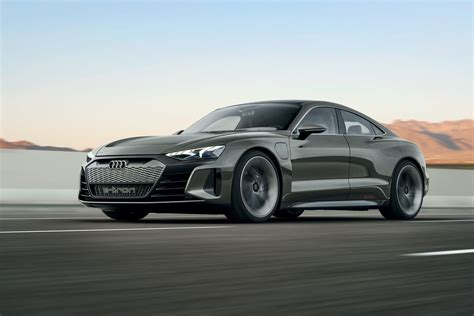 audi s e tron gt concept is a 590 horsepower electric