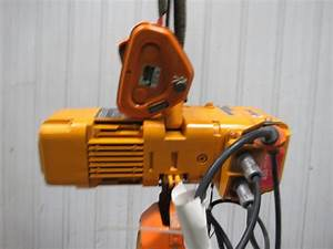 Harrington Size B Ner005l 1  2 Ton Electric Chain Hoist 10
