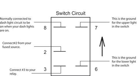 Boat Stereo Rocker Switch by Wiring Diagram Rocker Switch Wiring Diagram Mictuning