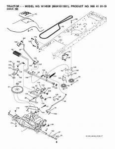 Weed Eater 96041011901 Lawn Tractor Parts List  2010