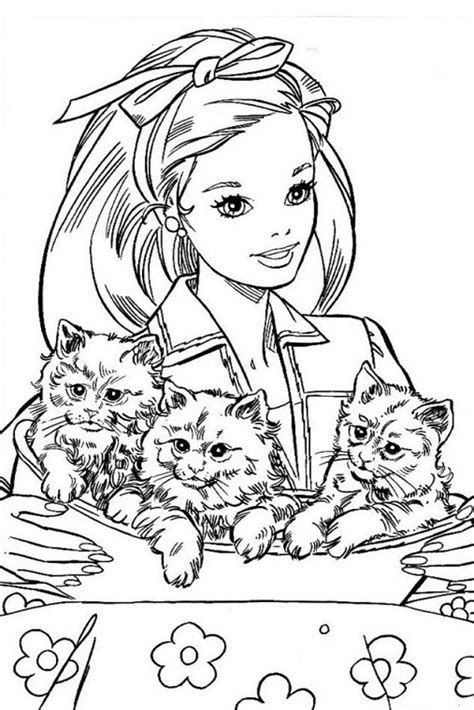barbie coloring pages overview  great barbie sheets