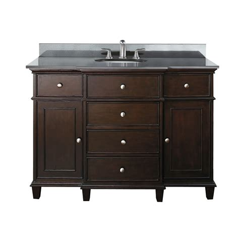 avanity windsor 49 quot bathroom vanity set reviews wayfair