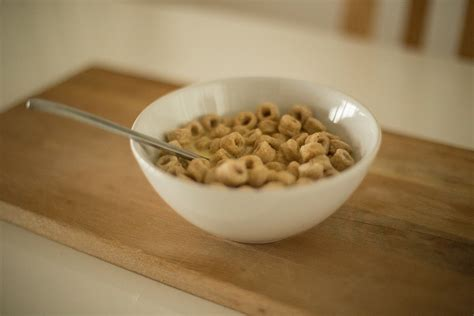 stock photo  bowl breakfast cereal