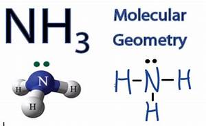 NH3 Molecular Geometry / Shape and Bond Angles (Ammonia ...
