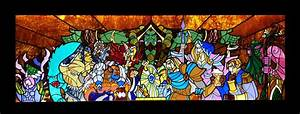 Hearthstone Stained Glass made for Blizzard Entertainment