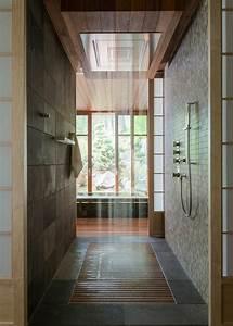 Grande Cabine De Douche : chambre avec salle de bain fusion d 39 espaces harmonieuse ~ Dailycaller-alerts.com Idées de Décoration