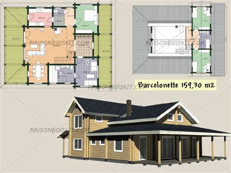 plan maison ossature bois gratuit