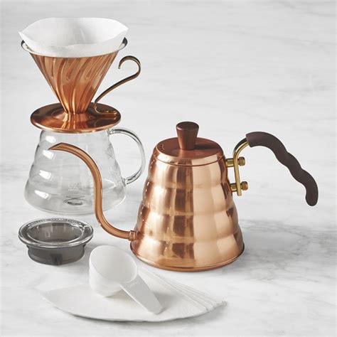 hario pour  kit copper williams sonoma