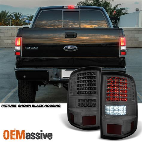 2004 2005 2006 2007 2008 ford f150 full led smoked tail