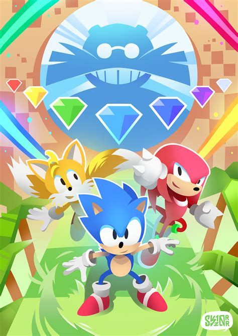 Quest 11 Wallpaper Iphone by Sonic Mania Plus Wallpapers Wallpaper Cave