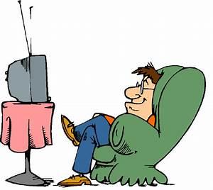 Cartoon Watching Tv Clipart - Clipart Suggest