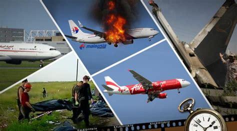 Waktu Wanita Datang Bulan 5 Kecelakaan Pesawat Selama Tahun 2014 Si Momot