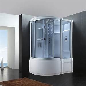 Baignoire Douche Balneo : baignoire avec cabine de douche int gr e d baleares ~ Melissatoandfro.com Idées de Décoration