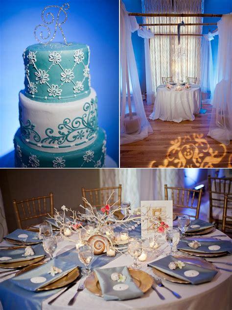 wedding reception decorations beach theme elegant beach themed wedding in florida onewed com