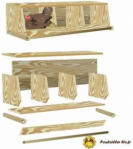 Plan Poulailler 5 Poules : construire des pondoirs nichoirs pour poules plans ~ Premium-room.com Idées de Décoration