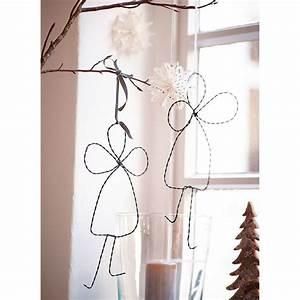 Mit Draht Basteln : metall engel gedrehter draht diy pinterest christmas christmas decorations und xmas ~ Watch28wear.com Haus und Dekorationen