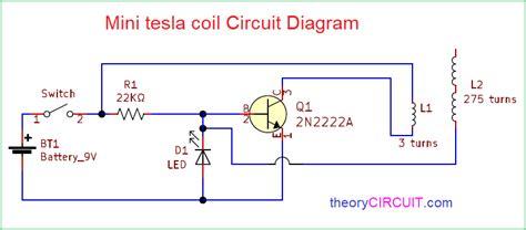 Mini Tesla Coil Circuit