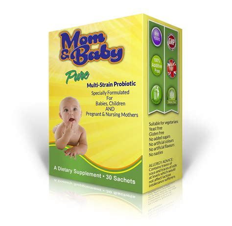 Mom Baby Pure Probiotic 30 Sachets Easy Mom And Baby