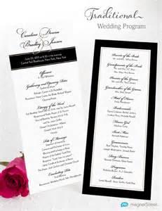 wording for wedding programs wedding program wording magnetstreet weddings