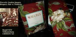 waverly garden images crimson green magnolia drape