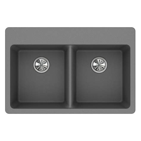 composite kitchen sink reviews elkay quartz classic drop in composite 33 in basin 5660