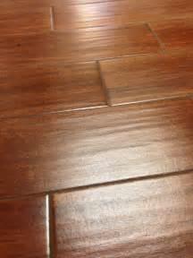 Commercial Grade Vinyl Plank Flooring by Wood Look Tile Close Up Columbia Missouri Bathroom