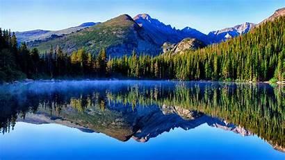 4k Mountain Rocky Lake Colorado Bear Park