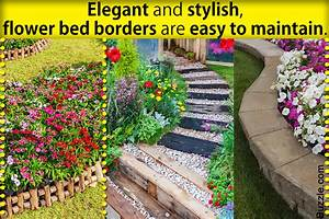 Colorful, Flower, Bed, Border, Attractive, Flower, Bed, Edging, Ideas