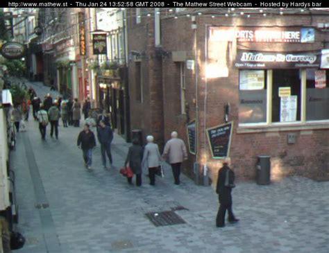mathew street webcam