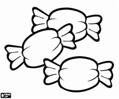 Sweets And Candies Coloring Pages Printable Games