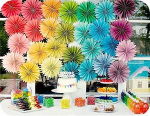 Be Different Act Normal: Paper Rosette Party Decorations