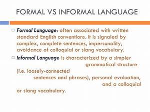 examples of informal essay topics