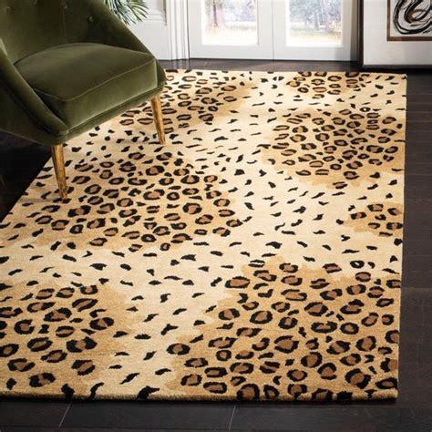 Safavieh Leopard Rug by Shop Safavieh Handmade Soho Leopard Print Gold Black N Z