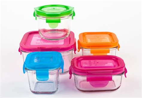 wean cubes glass storage containers now available in snack