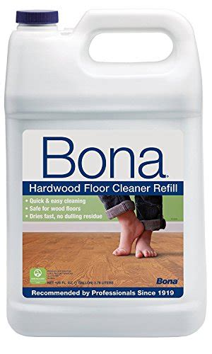 bona floor cleaner refill bona hardwood floor cleaner refill 128 oz clear best